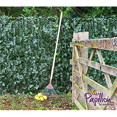 Primrose haie paravent en feuilles de lierre artificielles, 3 m x 1 ...