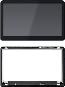 Bezel For HP ENVY X360 M6-w102dx M6-w103dx Touch Screen Digitizer Glass Panel