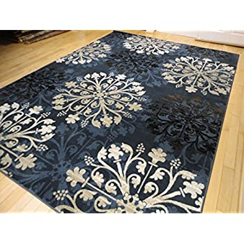 Premium contemporary rugs for living room navy - Navy rug living room ...