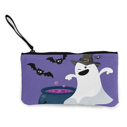 Wrution - Monedero de Tela, diseño de Halloween con Texto en ...