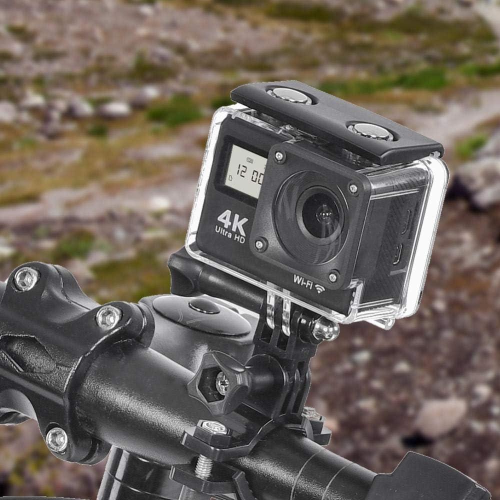 4K Action Kamera Full HD 1080P Wifi Doppelbildschirme Touchscreen Sportkamera 130 /° Weitwinkel Nachtsicht Action Camcorder mit Fernbedienung und mehreren Zubeh/ör-Kits