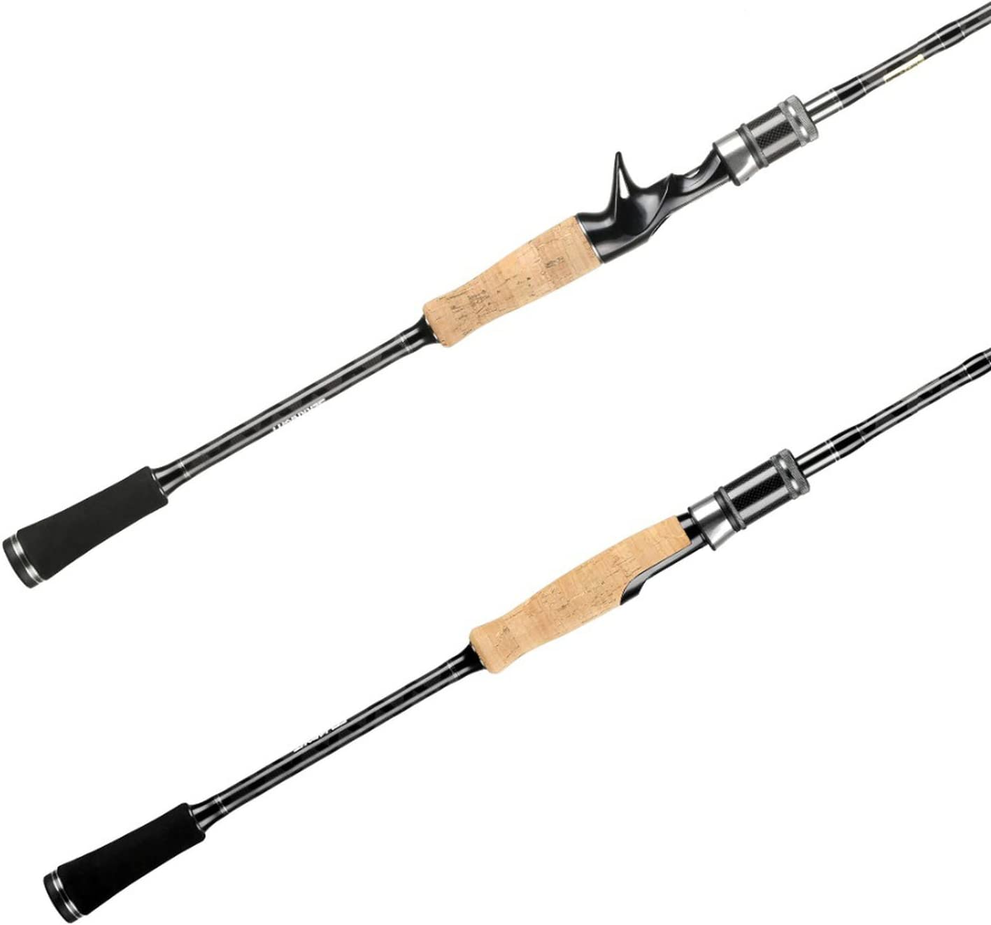 Hollday-store Fishing rod Barra de Pesca de 2 Puntas M&ML de 1,98 ...