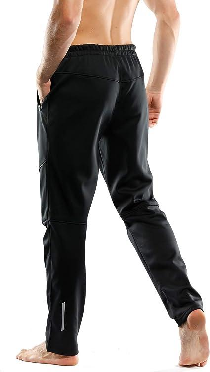 INBIKE Pantalones Deporte Largo Termico para Hombre, Pantalon ...