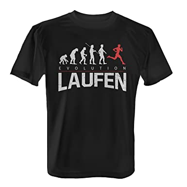e2c0db1ad1e6ed Fashionalarm Herren T-Shirt - Evolution Laufen