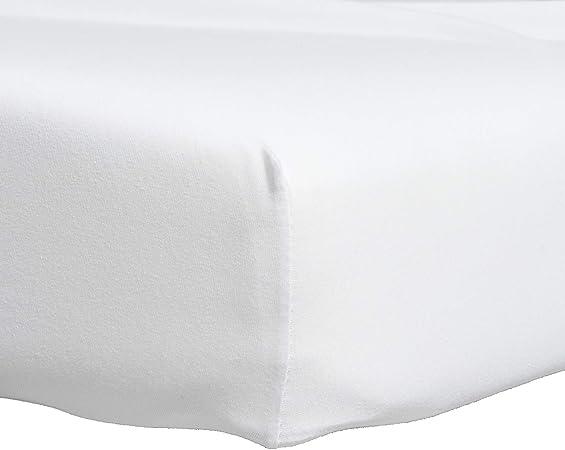 Proheeder Funda de Cama de sábana Ajustable Doble Jersey de algodón 100% - 190 x 135 x 30 cm - Ropa de Cama Blanca Made in Portugal: Amazon.es: Hogar