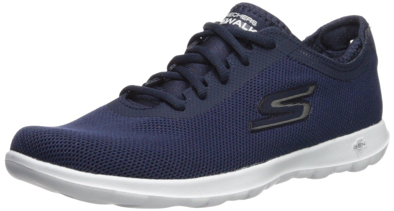 Skechers Women's Go Walk Lite-15360 Sneaker B072N8VFG9 6 B(M) US|Navy