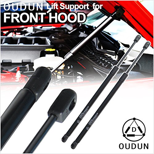 VioGi Brand New 2pcs Front Hood Bonnet Charged Lift Support Struts Shock Gas Spring Springs Fit 1998-2002 Honda Accord