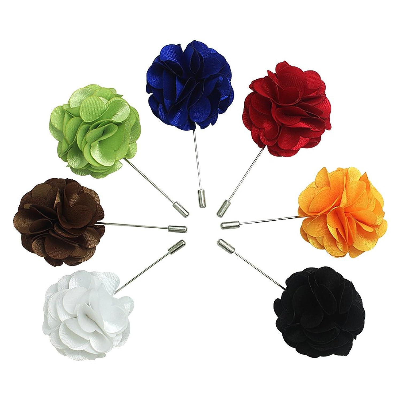 Amazon Wristchie Mens Lapel Pin Flower Handmade Boutonniere