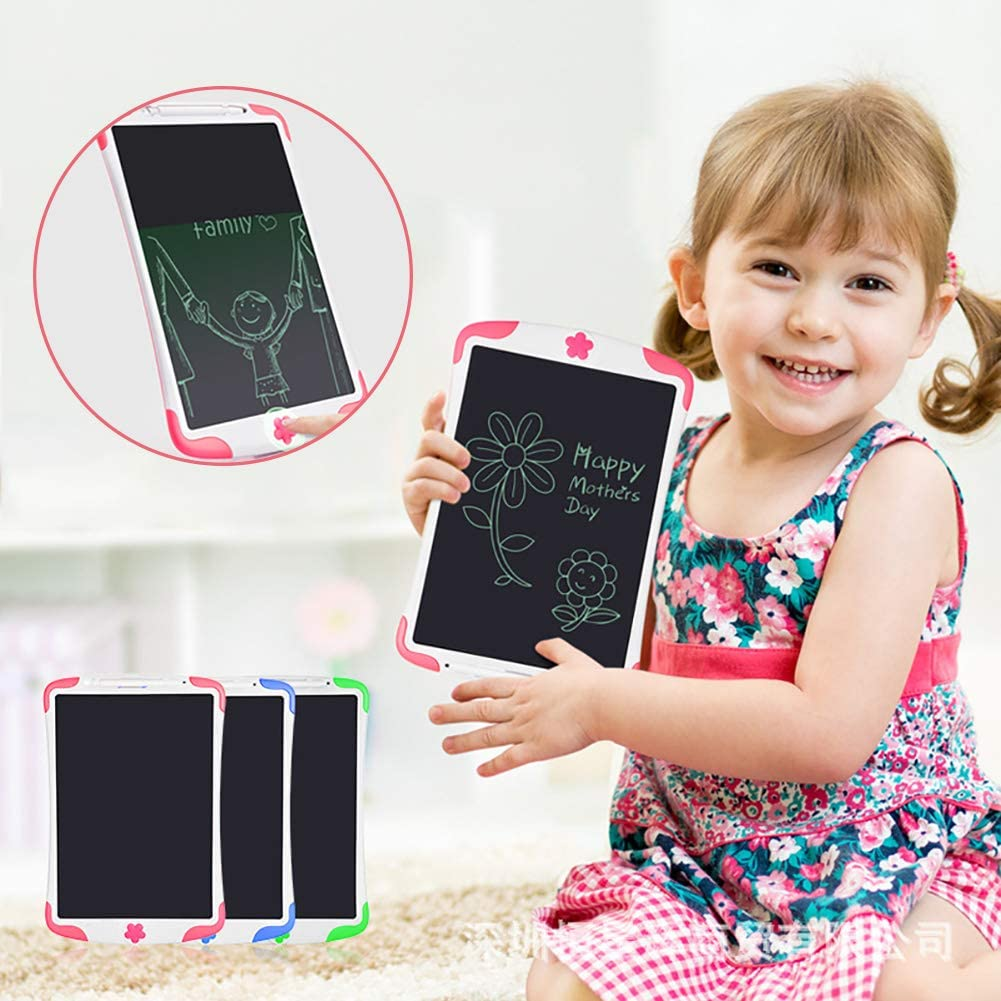 Painting Board Kids Educational Toys Handwriting Pad for Office School Pink FAgdsyigao LCD Writing Tablet 8.5inch Paperless Drawing Pads