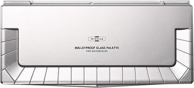 New Mijello Bulletproof Glass Palette for Watercolor 36 Colors by Mijello
