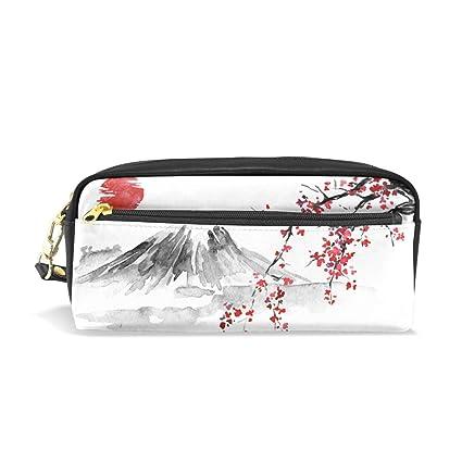 Estuche para lápices japonés tradicional Sumi-E pintura ...