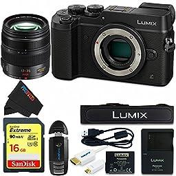 Panasonic DMC-GX8 (BLK2) Lumix Digital Camera Bundle (Black)
