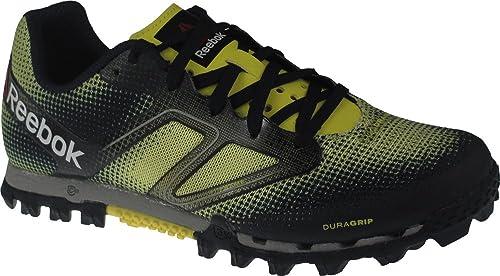 Reebok All Terrain Super Womens Running Shoe 9.5 Yellow-Navy-Steel 708f3be2e4c
