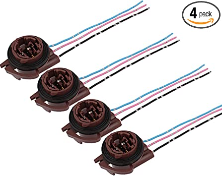 3157 socket wiring diagram amazon com blyilyb 4 pack 3 tabs 3157 t25 bulb female sockets pre  blyilyb 4 pack 3 tabs 3157 t25 bulb