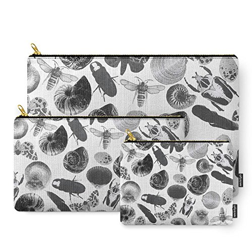 society6-bugs-and-shells-carry-all-pouch-set-of-3