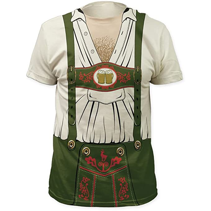 Amazon.com: Allover la cerveza alemana Oktoberfest Camarero ...