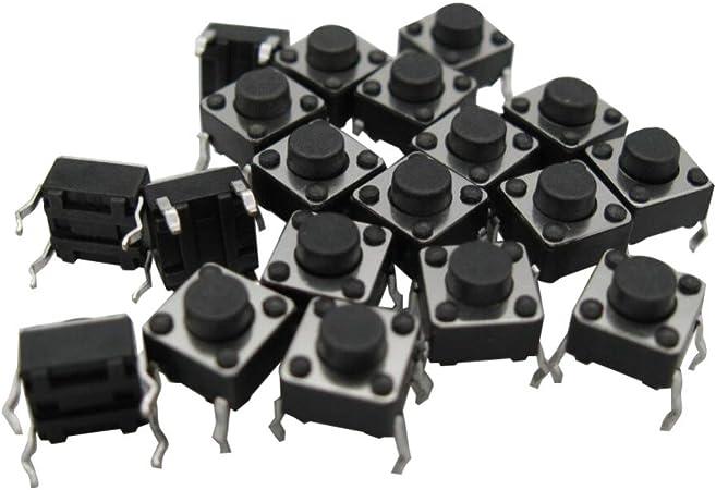 30 x Tact Switch 6*6mm 9.5mm 50mA Through Hole SPST-NO