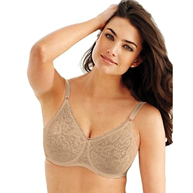 fc5eb72c35f85 Bali womens Lace and Smooth Underwire Bra(3432)-Nude-36D at Amazon ...