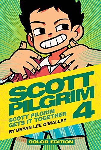 Scott Pilgrim Color Hardcover Volume 4: Scott Pilgrim Gets it Together [Bryan Lee O'Malley] (Tapa Dura)