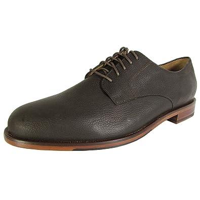 Cole Haan Mens Carter Grand Plain Toe Oxford Shoes, Dark Roast Grain, US 8