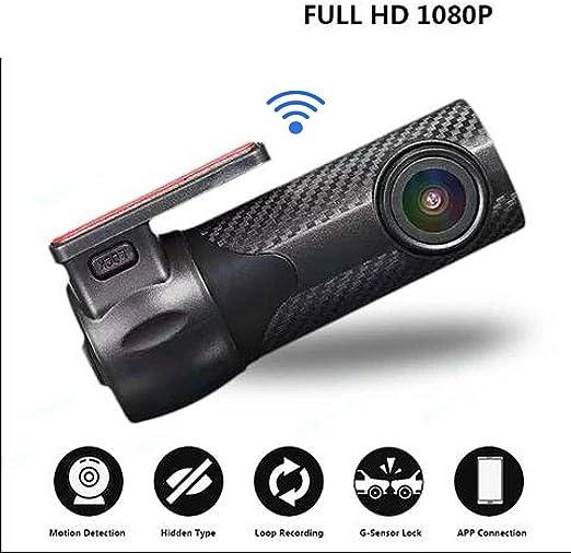 FHD 1080P Hidden Mini WiFi Car DVR Camera Dual Lens Night Vision Video Recorder