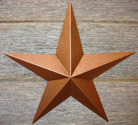 Copper Barn Star Wall - 2