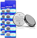 DoDoLightness Battery Lithium CR2032 Button Cell Batteries 3V 20PCS