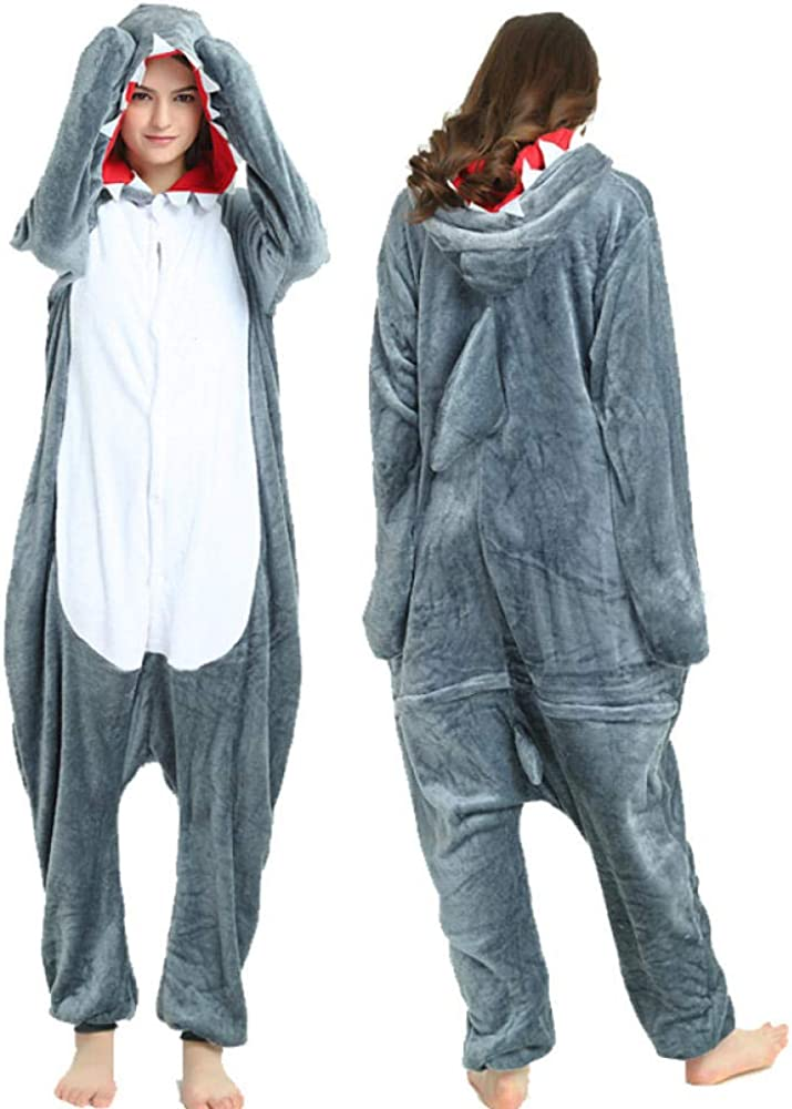 ZJXSNEH Unisexo Adulto Caliente Animal Pijamas Cosplay Disfraz Homewear Mamelucos Ropa De Dormir