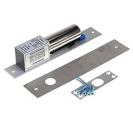 KKmoon Gota Eléctrica Pestillo de la Cerradura de la Puerta DC 12V Magnético Inducción Auto Cerrojo