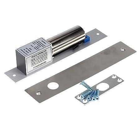 Kkmoon Electric Drop Bolt Door Lock DC 12 V Door Latch Lock