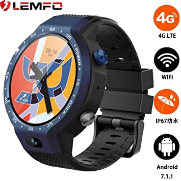 LEMFO LEM9, reloj inteligente de doble sistema 4G LTE: Amazon.es ...