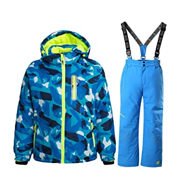 Independent Free Shipping Boy+girl Ski Jacket+pants Set Winter Snowboard Clothes Thickening Breathable Kids Snow Suits Waterproof Ski Coats Sports & Entertainment