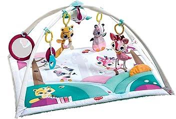 universelle Befestigungsclips passend f/ür fast alle Tragetaschen nutzbar ab der Geburt mit Rasselspielzeug 0M+ Kinderwagen oder Baby-Autositze Babyschalen Spielbogen Butterfly Stroll Tiny Love
