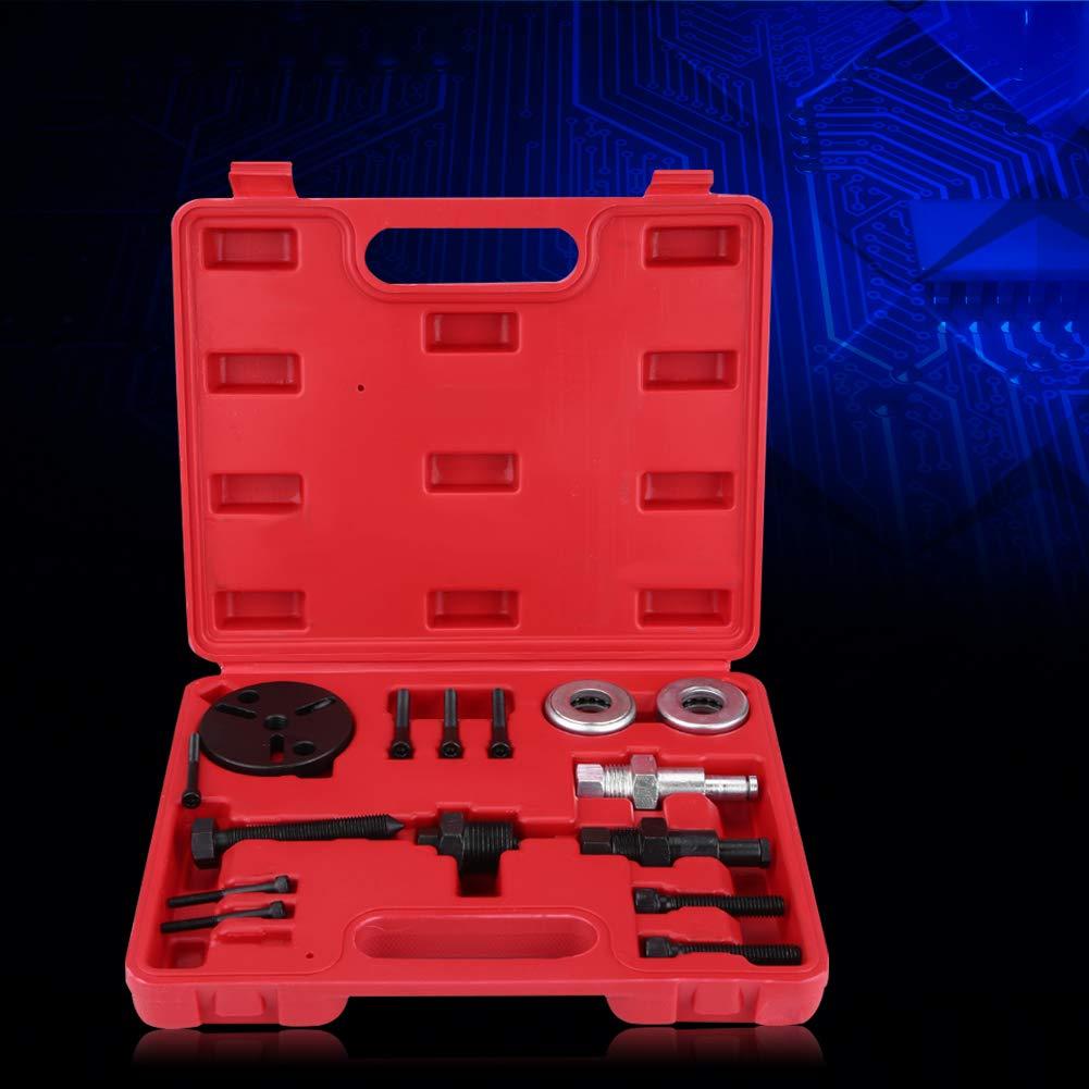 Zerone Kit de Extracci/ón de Embrague de Compresor de Aire Acondicionado Autom/ático Instalacion de Extractor