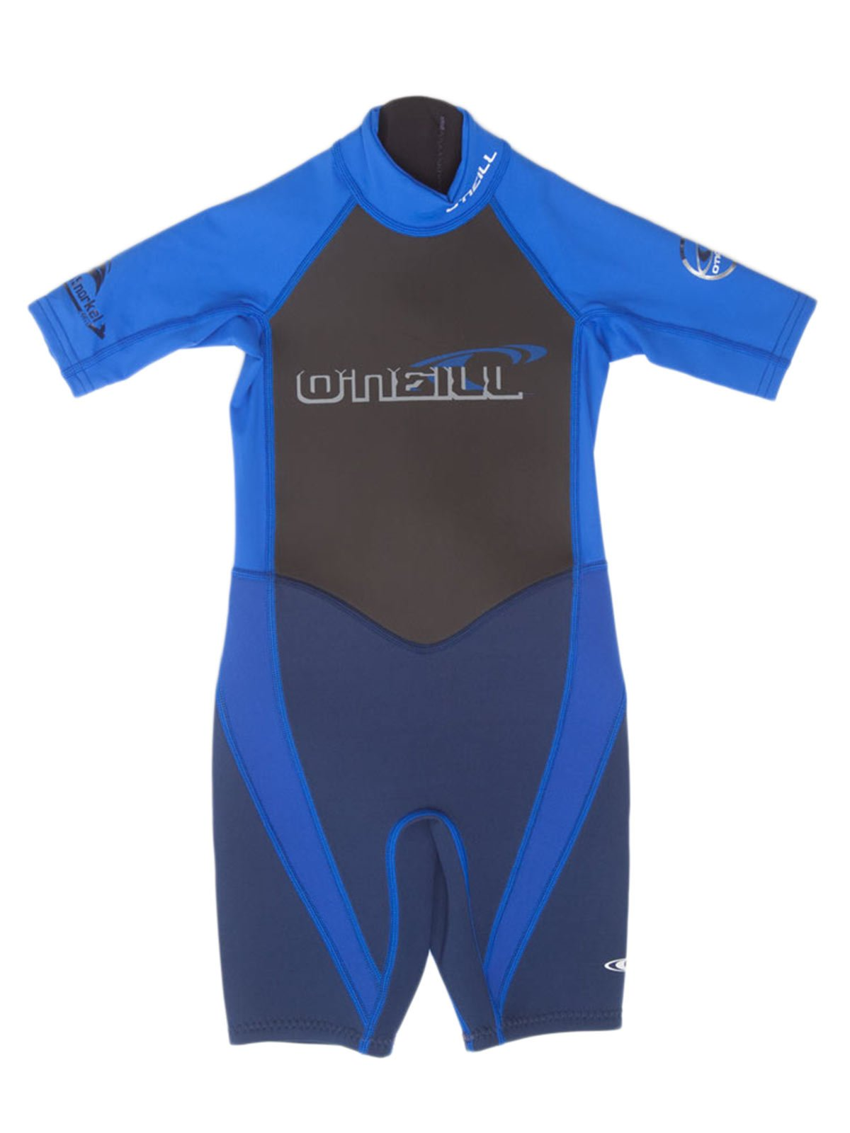 O'Neill Reactor Hybrid kids shorty wetsuit 12 Navy/pacific blue
