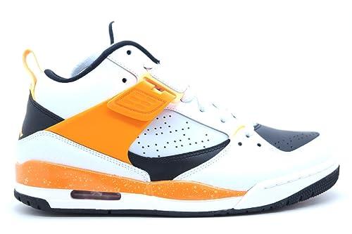 Nike  644846-016  AIR Jordan Flight 45 Mens Sneakers AIR JORDANPR Pltnm ATMC  MNG-White-KMQTM  Amazon.ca  Shoes   Handbags 4b7941415