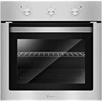 "Empava 24"" Push Buttons Electric Built-in Economy Under-Counter Stainless Steel Single Wall Ovens EMPV-24WOA01-LTL"