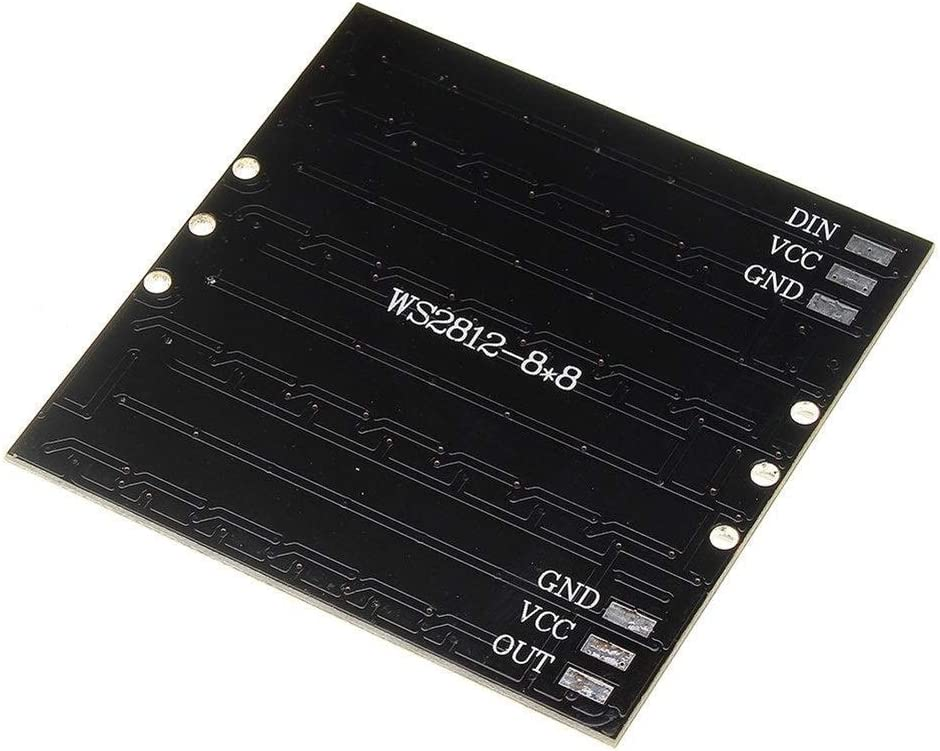 Gulakey 64 Bit WS2812 5050 RGB LED Driver Development Board Spot Steuermodul