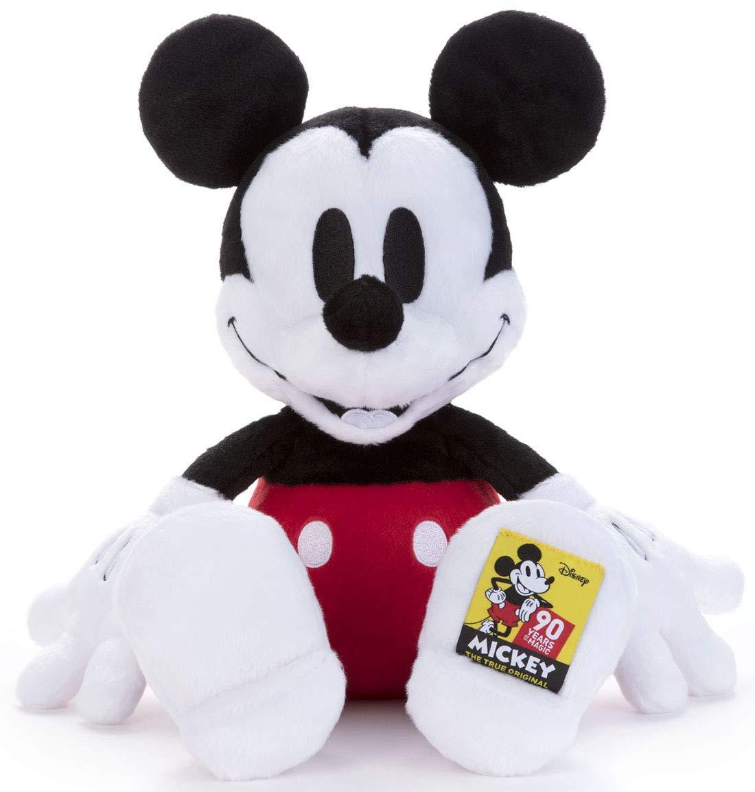 ディズニーキャラクター 90周年 ぬいぐるみM ミッキーマウス 高さ約42cm