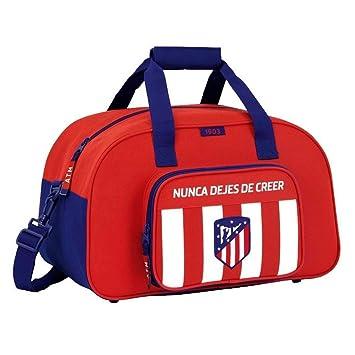 Safta Bolsa De Deporte Atlético De Madrid Oficial 400x230x240mm: Amazon.es: Equipaje