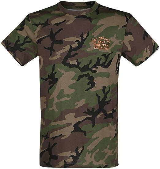 b53fdc0d Vans Spring Training T-Shirt Camouflage: Amazon.co.uk: Clothing
