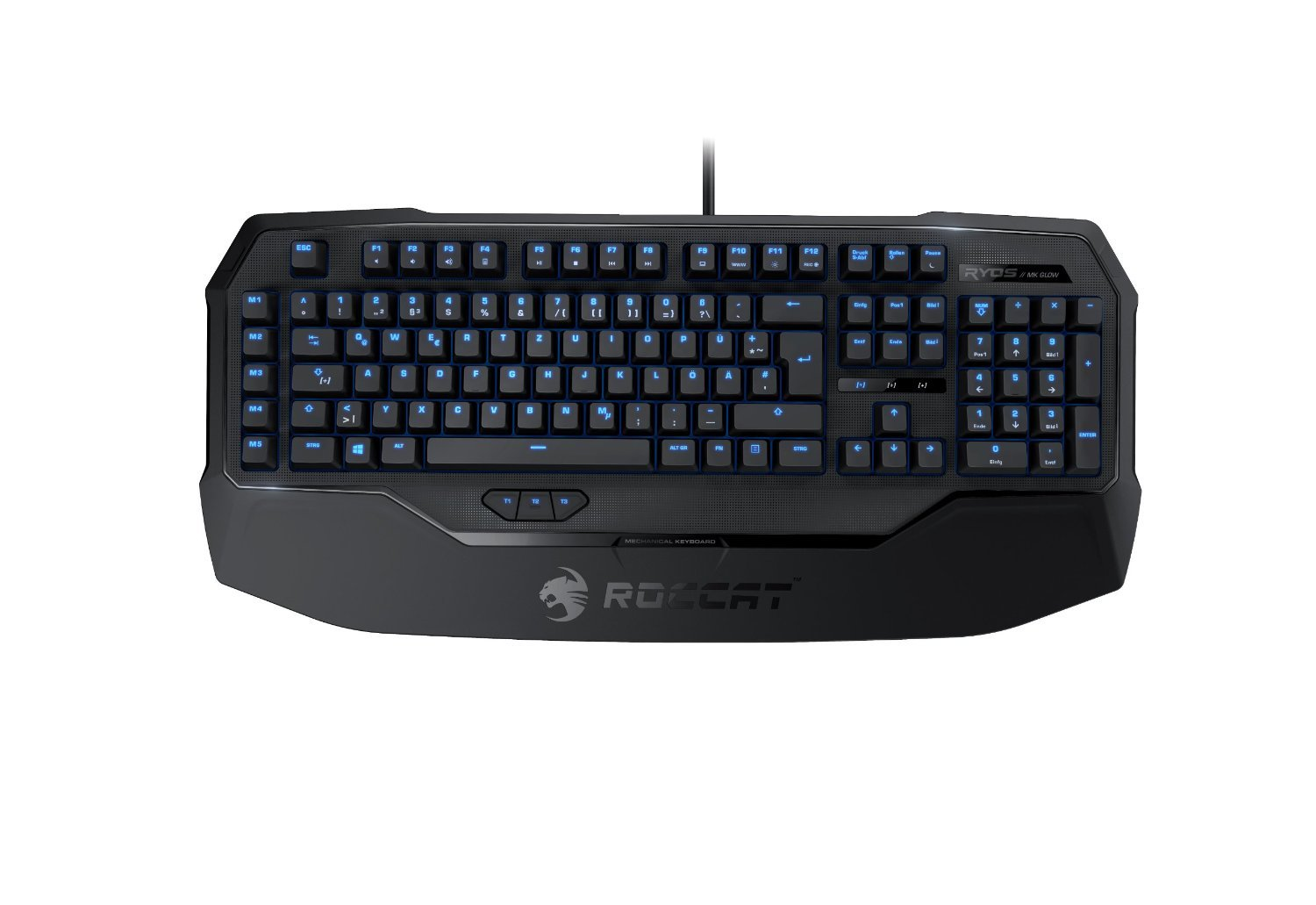Amazon mechanical keyboard - Amazon Com Roccat Ryos Mk Glow Illuminated Mechanical Gaming Keyboard Black Cherry Mx Key Switch Computers Accessories