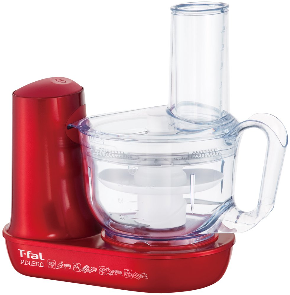 T-fal Food Processor Mini Pro Ruby Red Plus[wholesale / Cutter / Whisk Slice Shredded /] Mb601g73 Mb601g73
