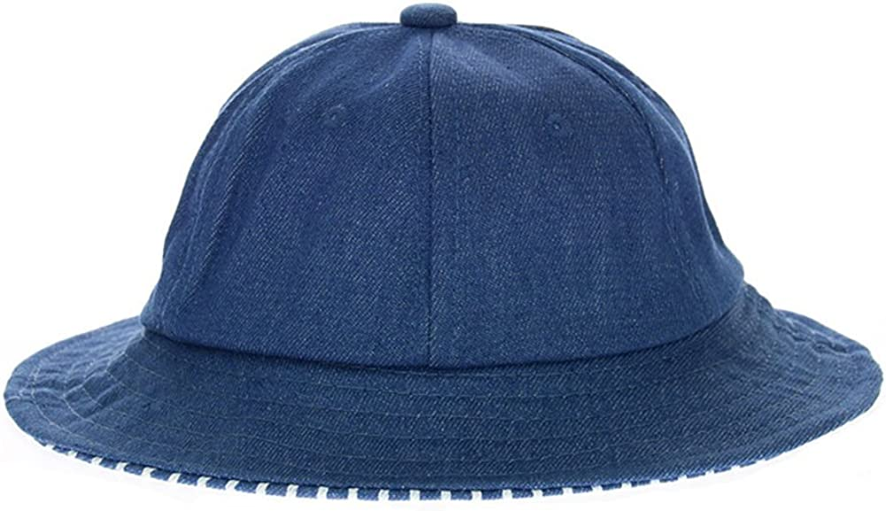 Roffatide Kids Embroidery Fishing Hat Bucket Hat Boys Girls Summer Outdoor Sun Protection Hat