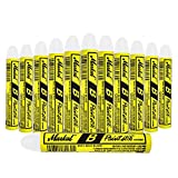 12 Pc Box White Markal B Paintstiks Crayon Mark Water Oil Dirt Extreme Temp Paint Stick Chalk for Auto Tire Construction Fabric Steel Lumber