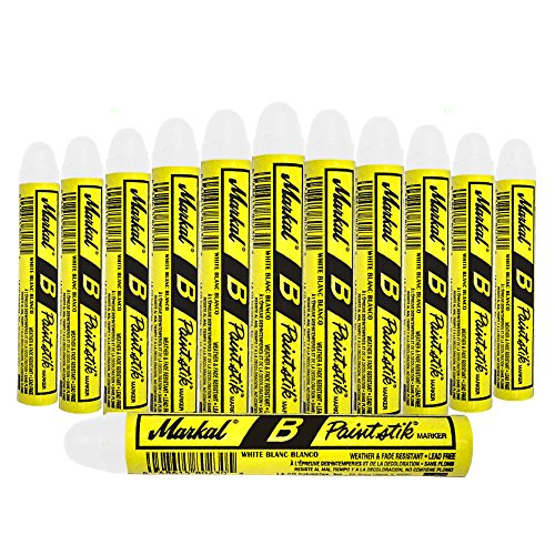 12 Pc Box White Markal B Paintstiks Crayon Mark Water Oil