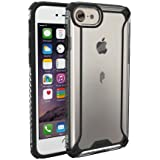 iPhone 7 Case, POETIC Affinity Series Premium Thin/No Bulk/Slim fit/Clear/Dual material Protective Bumper Case for Apple iPhone 7 (2016) Black/Clear