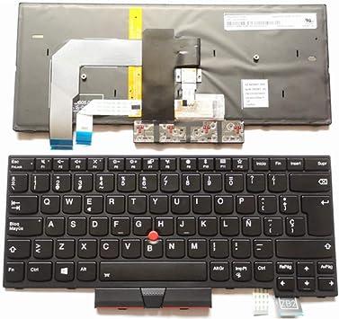 Español Teclado retroiluminado para Lenovo ThinkPad A475 T470 ...