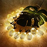 Cheap SunKite Pineapple String Lights,10ft 20 LED Decor Fairy Lights Battery Powered,Pineapple Decorations for Party Bedroom Home Wedding Birthday Christmas Patio Landscape Festival(Warm White)