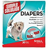 Image of Simple Solution Disposable Dog Diaper 30pk